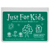 Green Just For Kids Ink Pad