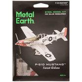 P-51D Mustang Plane Steel Model Kit