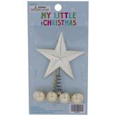 Star Mini Tree Topper & Ornaments