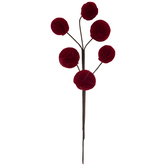 Red Velvet Ball Pick