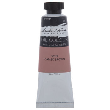 Cameo Brown Master's Touch Oil Paint - 1.7 Ounce