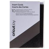 Black Glitter Cricut Joy Insert Cards - A2