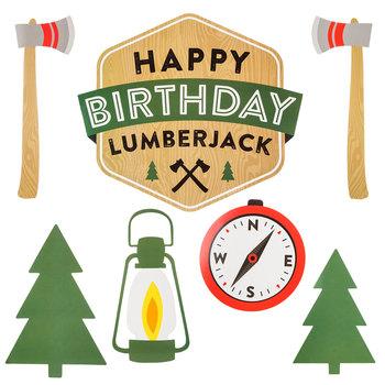Lumberjack Party Cutouts