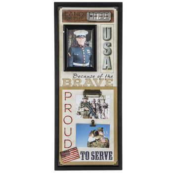 Military Collage Wall Frame