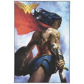 Wonder Woman Wood Wall Decor
