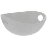 White Bowl With Handles