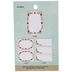 Floral Border Label Stickers