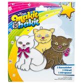 Kittens Makit & Bakit Suncatcher Kit