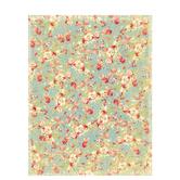 "Linen Floral Scrapbook Paper - 8 1/2"" x 11"""