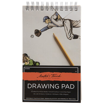 """Master's Touch Drawing Paper Pad - 4"""" x 6"""""""