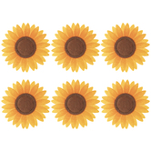 Sunflower Felt Stickers