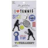 Tennis 3D Stickers