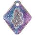 Crystal Vitrail Light Rhombus Swarovski Charm