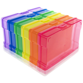 Rainbow Photo Cases With Holder