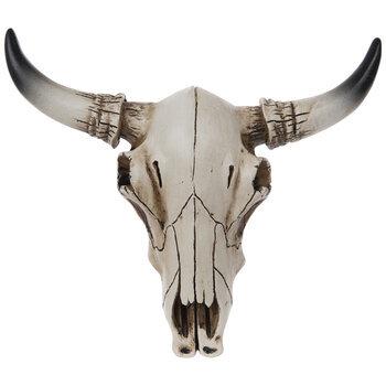 Bull Skull Wall Decor - Small