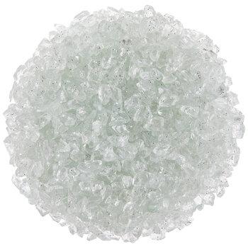 Shiny White Glass Deco Stone Filler