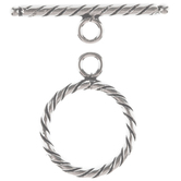 Sterling Silver Toggle Clasp