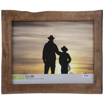 Rough Edge Wood Wall Frame