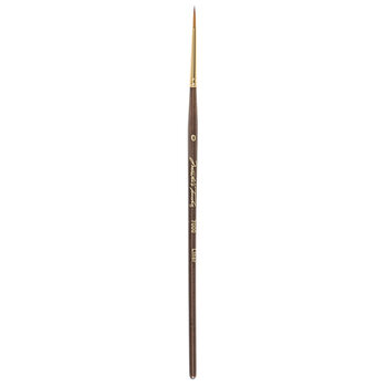 Golden Taklon Liner Paint Brush