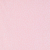 Pink & White Soft Spots Apparel Fabric