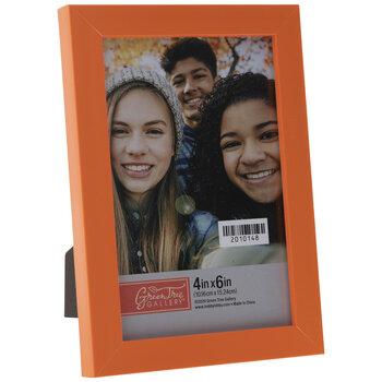 Orange Flat Frame
