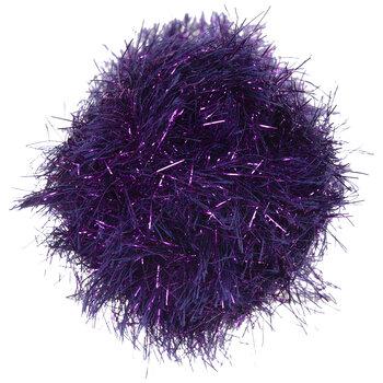Purple Yarn Bee Gilt Eyelash Yarn