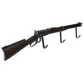Rifle Wall Decor With Hooks