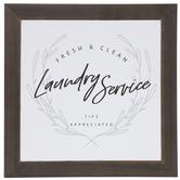 Laundry Service Wood Wall Decor