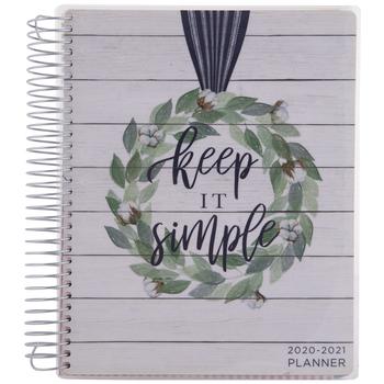 2020 - 2021 Keep It Simple Planner - 18 Months