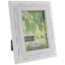 Distressed White Wood Frame - 5