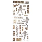 Vintage Football Stickers