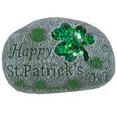 Happy St. Patrick's Day Garden Stone