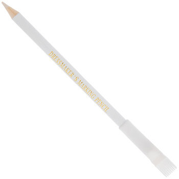 White Dressmaker's Marking Pencil With Brush
