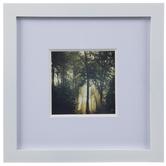White Wood Wall Frames Set