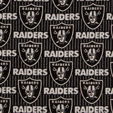 NFL Oakland Raiders Fleece Fabric