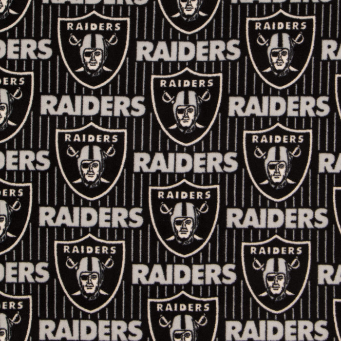 Nfl Oakland Raiders Fleece Fabric Hobby Lobby 955500