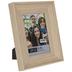 Beige Scoop Wood Look Frame - 4