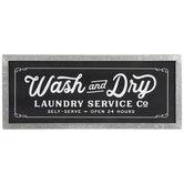 Wash & Dry Laundry Wood Wall Decor