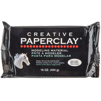 Natural White Creative Paperclay Molding Material