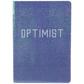 Purple Iridescent Optimist Notebook