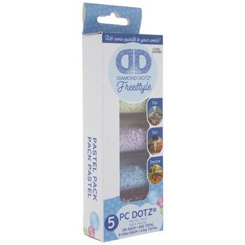 Pastel Diamond Dotz Freestyle Gems Sampler