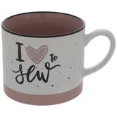 I Love To Sew Mug