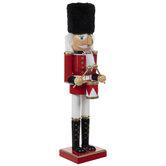 Red Drumming Soldier Nutcracker