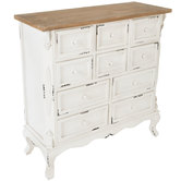 White French Farmhouse Cabinet