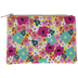 Bright Floral Cosmetic Pouch