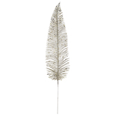 Champagne Gold Glitter Feather Pick