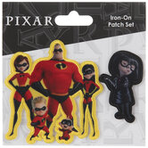 The Incredibles & Edna Iron-On Appliques