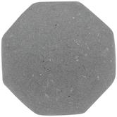 Gray Octagonal Stone Look Knob