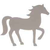 Horse Chipboard Shape