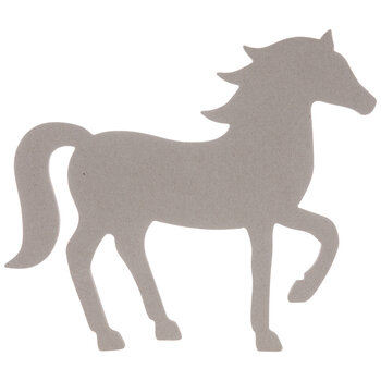 Horse Chipboard Shape